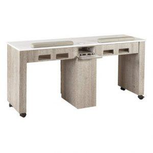 XO Double Nail Table 63″