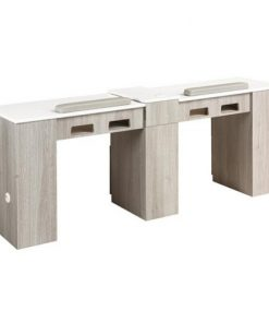XO Double Nail Table 76″