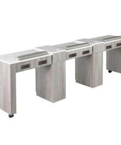 XO Triple Nail Table 96″