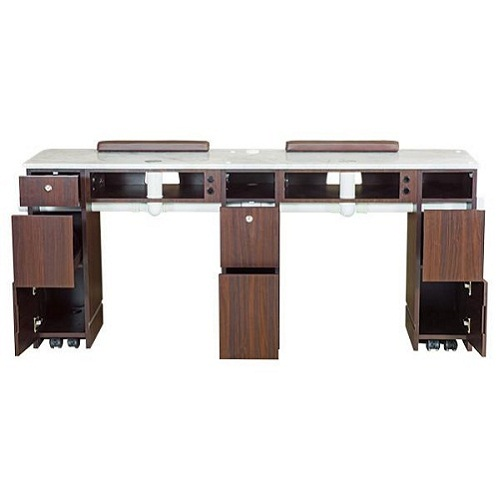 YC Double Nail Table 71″ With Pipe