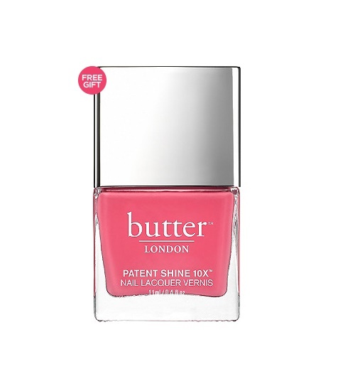 BUTTER LONDON Patent Shine 10X (Opaque Fuchsia Pink Crème) » Best ...