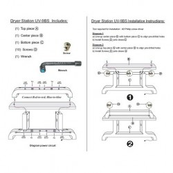 Dryer Station UV 9BS 000
