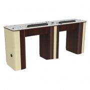 Verona Nail Table Double 222
