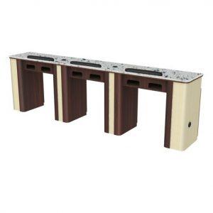 Verona Nail Table Triple