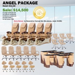 Angel 777 Pedicure Chair Package - Free shipping