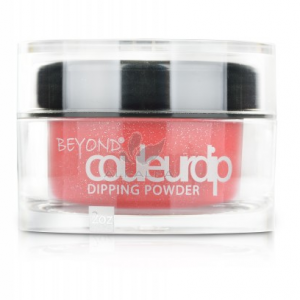 Beyond Couleurdip Powder 2-in-1 Acrylic Dipping Powder – #560 Shimmer Red Lipstick – 2oz (USA)