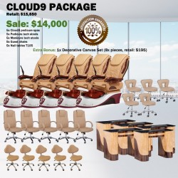 Cloud9 Pedicure Chair Package - Free shipping