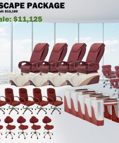 Escape Spa Pedicure Chair Package – Free shipping