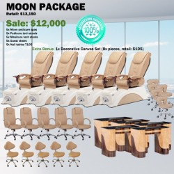 Moon Pedicure Chair Package - Free shipping