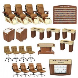 Alessi Pedicure Spa Chair Package - Free Shipping