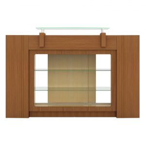 Sedona Reception Table with Display