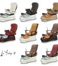 La Tulip 3 Spa Pedicure Chair 070.