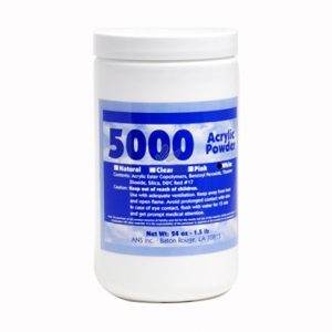 5000™ Clear Acrylic Powder – 24 oz