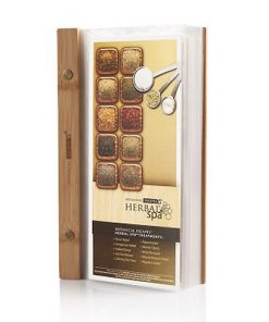 Bamboo Spa Menu Card Binder