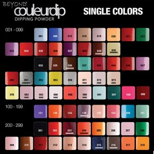 Beyond Couleurdip 2-in-1 Acrylic Dipping Powder – 2 oz – Select any 90 Colors