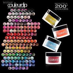 Beyond Couleurdip 2-in-1 Acrylic Dipping Powder 2oz- All color collections 000