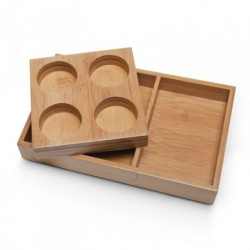 Botanical Escapes Herbal Spa Pedicure - Bamboo Spa Tray