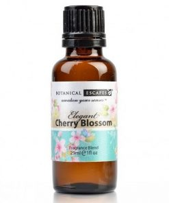 Botanical Escapes Herbal Spa Pedicure – Exotic Tropics – Cherry Blossom Fragrance Oil 1 oz