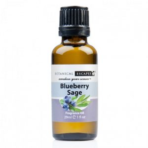 Botanical Escapes Herbal Spa Pedicure – Fruity-Tea Collection – Blueberry Sage Fragrance Oil 1 oz