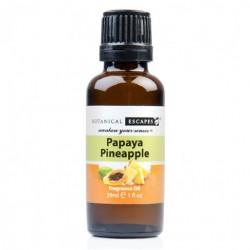 Botanical Escapes Herbal Spa Pedicure - Fruity-Tea Collection - Papaya Pineapple Fragrance Oil 1 oz