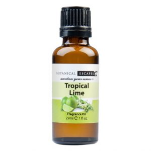 Botanical Escapes Herbal Spa Pedicure – Fruity-Tea Collection – Tropical Lime Fragrance Oil 1 oz