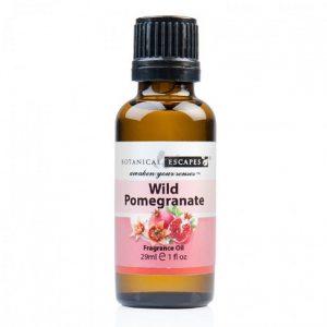 Botanical Escapes Herbal Spa Pedicure – Fruity-Tea Collection – Wild Pomegranate Fragrance Oil 1 oz
