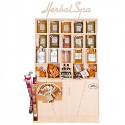 Botanical Escapes Herbal Spa Pedicure - Investment Kit with Cabinet