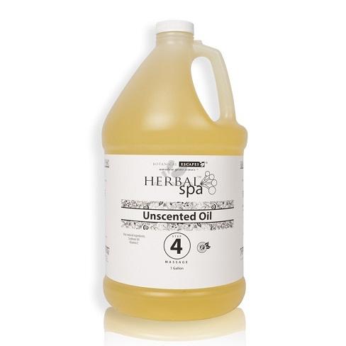 Botanical Escapes Herbal Spa Pedicure – Massage Oil Base – 1 gallon