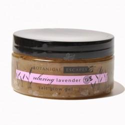 Botanical Escapes Lavender Salt Glow Gel - 10oz