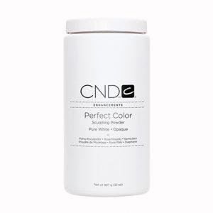 CND Perfect Color Sculpting Powder – Pure White – Opaque – 32oz