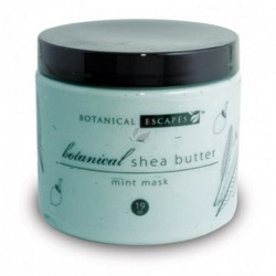 Cooling Shea Butter Mint Mask - 19oz