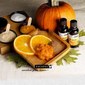 Fall Aroma Herbal Spa Poster