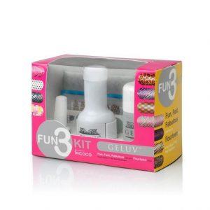 Geluv Fun3 Nail Applique Kit
