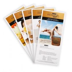 Herbal Spa Rejuvenate Menu Card 5 pcs set