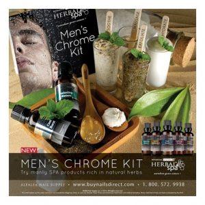 Men's Chrome Kit – Botanical Escapes Herbal Spa Pedicure