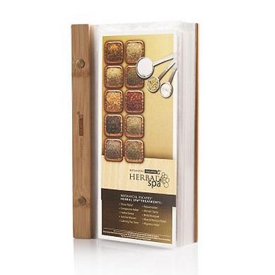 Herbal Spa Recipes Menu Cards - Herbal Spa Recipes Menu Cards