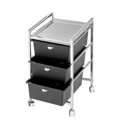 Drawer Metal Pedi Cart 1