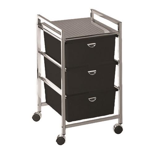 Drawer Metal Pedi Cart