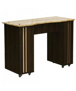 Adelle Manicure Table Chocolate B