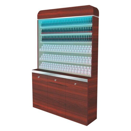 I Polish & Powder Rack With Gel Color & Powder Cabinet 48