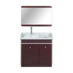 I Single Sink With Faucet 35""