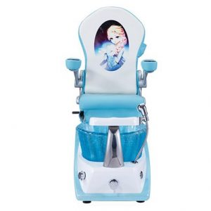 Mini Blue Kids Spa Chair