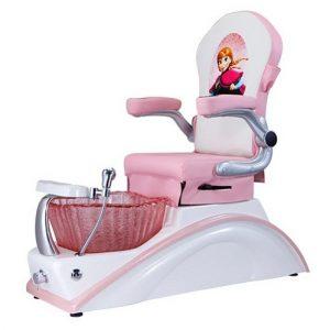 Mini Pink Kids Spa Chair