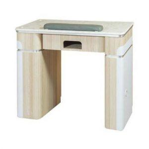 "Topas Nail Table 35"" – 1 Hole LED"