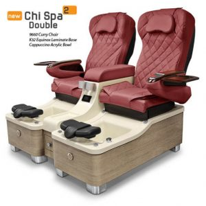 Chi Spa 2 Double Pedicure Chair