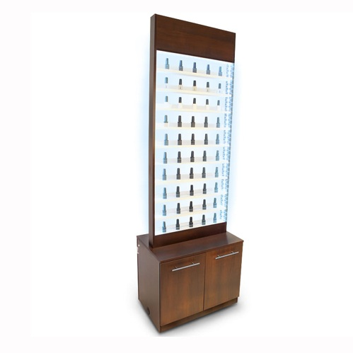 Paris Nail Polish Rack With Cabinet And Led Light 187 Best