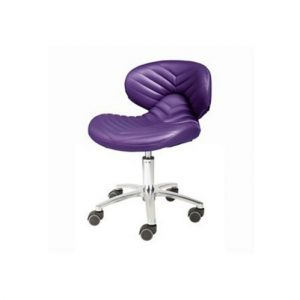 1010 Chevron Pedicure Stool