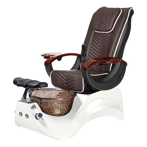 Whale Spa Alden Crystal Pedicure Chair – PROMOTION