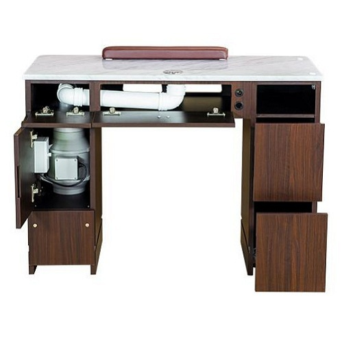 YC Nail Table 41″ With Vented