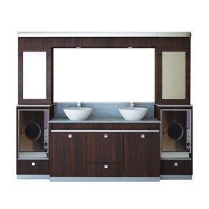 Double Sink w/Cabinet 4